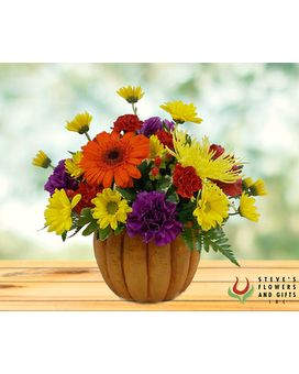 The Great Pumpkin Flower Arrangement