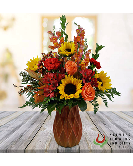 Fruit Of The Fields Flower Arrangement