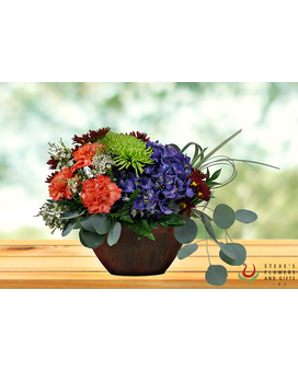 Mosaic Morning Flower Arrangement