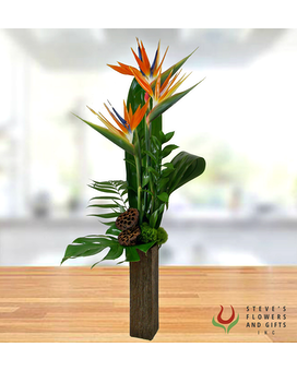 Tropic of Conversation Flower Arrangement