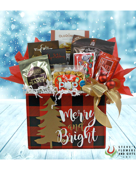 Merry and Bright Gourmet Gift Basket