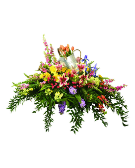 Gardening Casket Spray Funeral Casket Spray Flowers