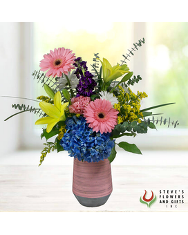 Pinky Swear Flower Arrangement