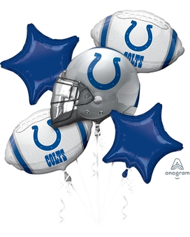Indianapolis Colts Mylar Balloon Bouquet Gifts