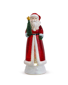 Motorized Light Up Santa Claus Snow Globe Gifts