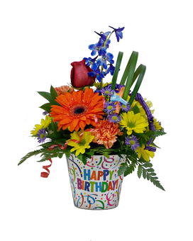 Birthday Celebration! Flower Arrangement