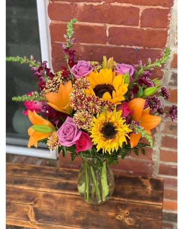 Sweet Fall Flower Arrangement
