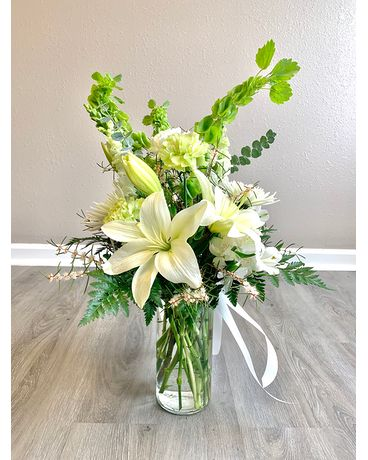Easter Lily Bouquet Flower Arrangement