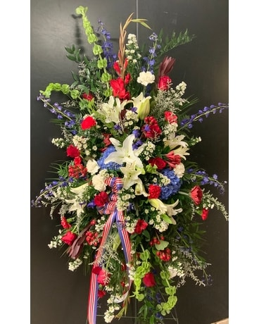 Legacy's salute to honor Flower Arrangement