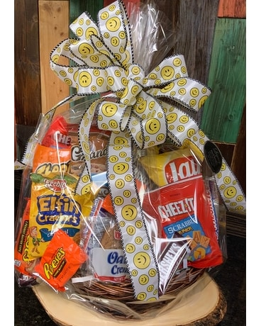 Mixed munchie basket Gift Basket