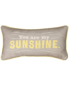 Manual Reversible Throw Pillow, You Are My Sunshin Gifts