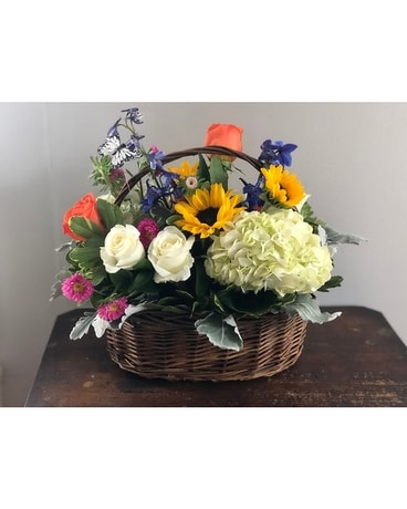 Flowers In Bloom Flower Arrangement