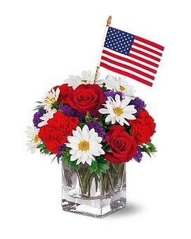 Freedom Bouquet Flower Arrangement
