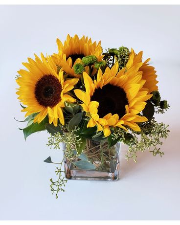 Citiflowers Sunburst of Sunflowers Flower Arrangement