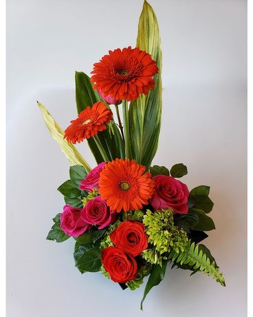 Citiflowers Neon Zen Flower Arrangement