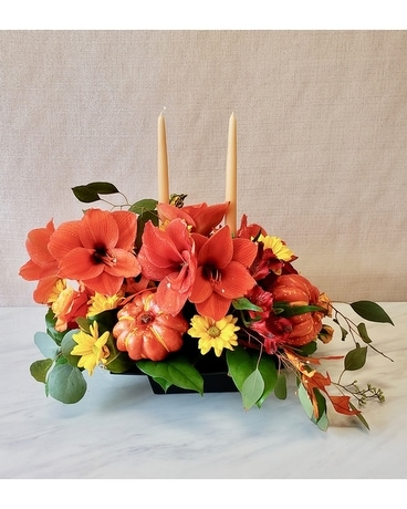 Citiflowers Autumn Lights Centerpiece