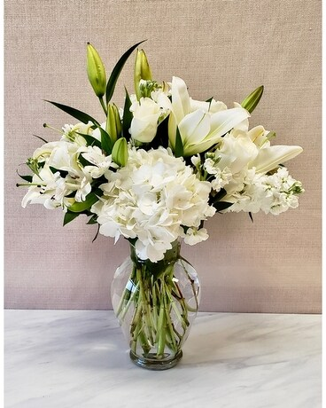 Citiflowers Rhapsody in White Flower Arrangement
