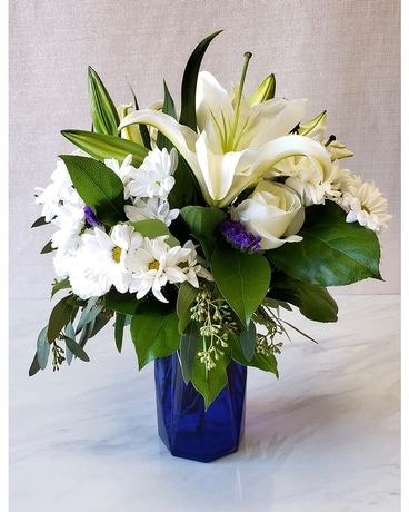 Cobalt & Cool by Citiflowers