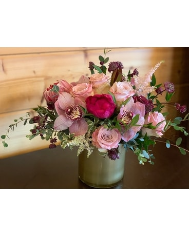 Passionate Pastels Flower Arrangement
