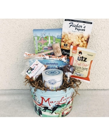 Taste of Maryland Basket Gift Basket