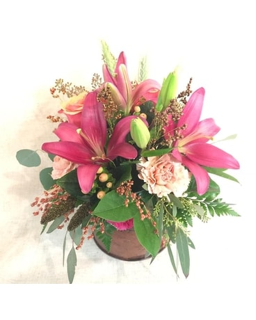 Abundant Autumn Flower Arrangement