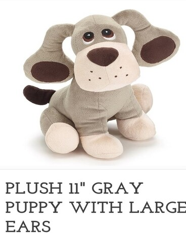 Gray Puppy with Large Ears Gifts