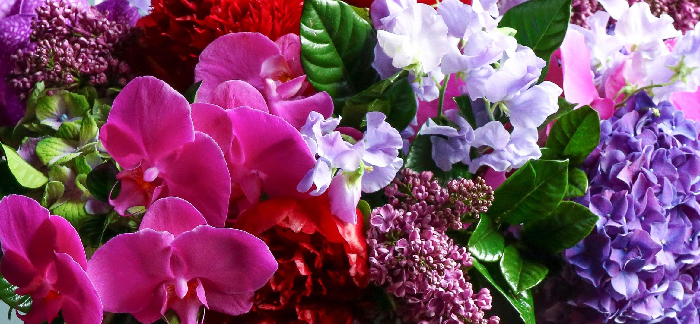 Luxe Flowers & Boston Luxury arrangement delivery
