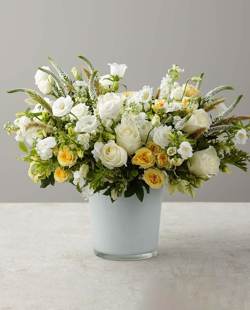 Golden Fields Flower Arrangement