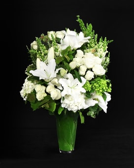 Traditional Elegance Vase Flower Arrangement