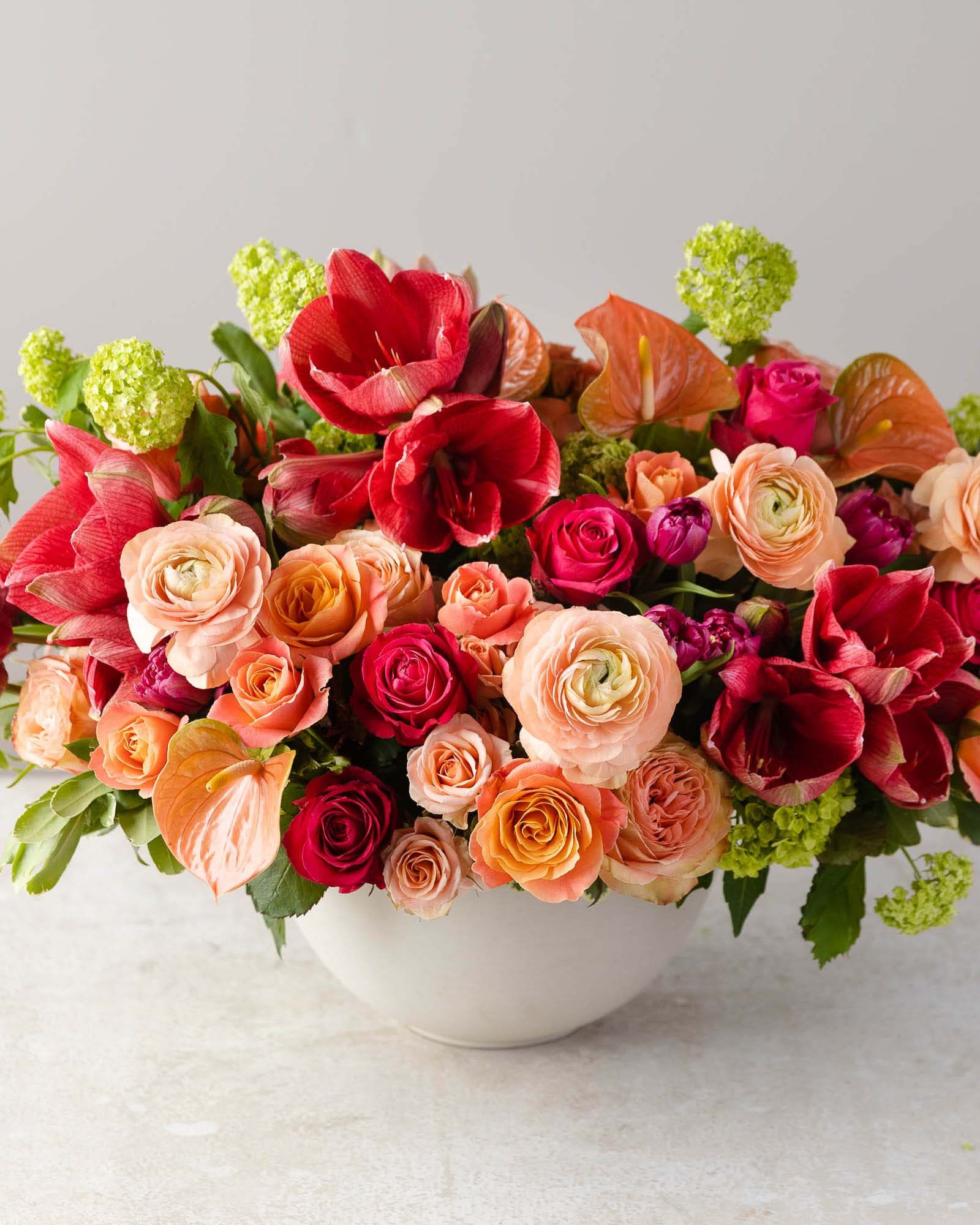 Lively Garden Flower Arrangement
