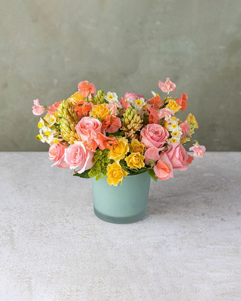 Citrus Charm Flower Arrangement
