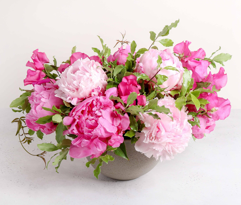 Peony Enchantment In Boston Ma Winston Flowers