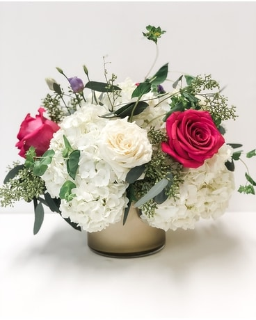 Bold Romance Flower Arrangement