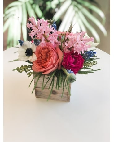 Spring Blooms Flower Arrangement