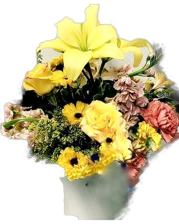 Sunshine Splendor Flower Arrangement