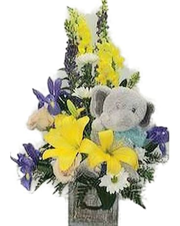 Blossoms for Baby Flower Arrangement