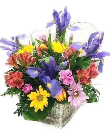 Affairs to Remember's Iris Garden Flower Arrangement
