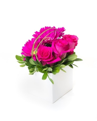 Fuchsia Wishes Flower Arrangement