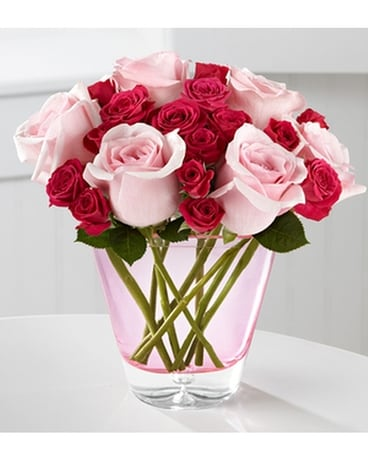 The FTD® Perfect Rose™ Bouquet by BHG™ Flower Arrangement
