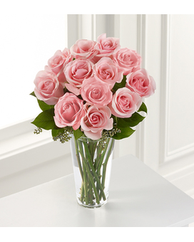 The FTD® Pink Rose Bouquet Flower Arrangement