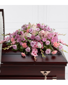 The FTD® Immorata™ Casket Spray Flower Arrangement