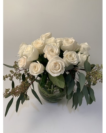 Roses Mounded Flower Arrangement