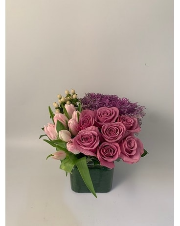 Urban Square Pastel - Flower Arrangement