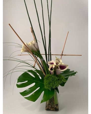 Zen Garden Flower Arrangement