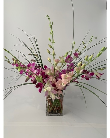 Thailand Orchid Mix Flower Arrangement