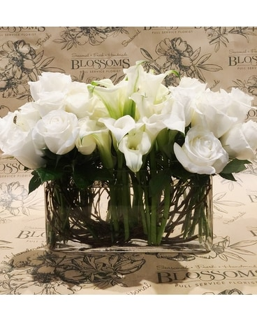 Luxury Hedged Elegance Flower Arrangement