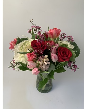 Valentine's Day Romantic Arrangement Flower Arrangement