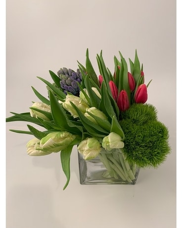 Spring Blossoms Flower Arrangement
