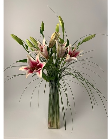Imperial Lilies Flower Arrangement