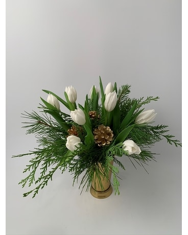 Holiday Julep Flower Arrangement